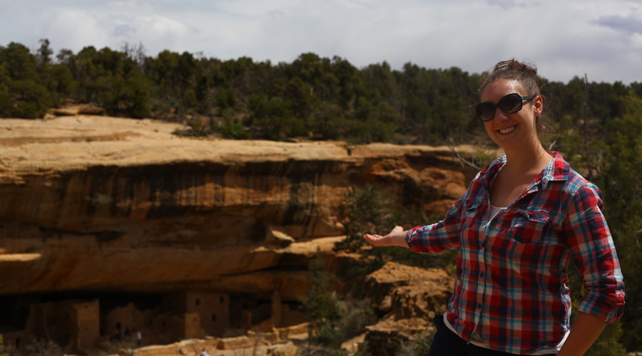 Tour Guide at Mesa Verde National Park CO